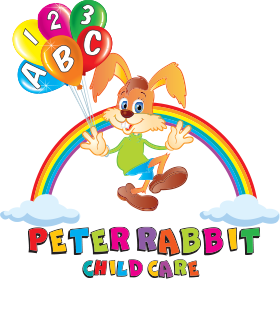 Peter Rabbit Childcare Logo